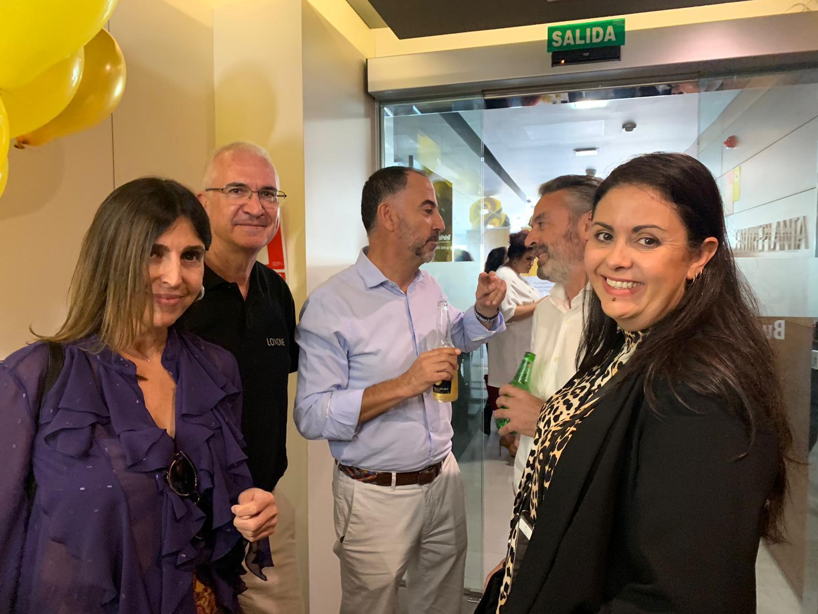 Ana Mercader, Pilar, Jose Luis Carrión y Jose María Sánchez