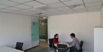 Oficinas temporales para seleccion de personal