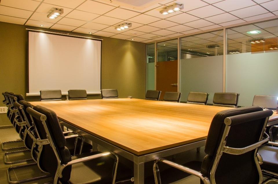 Sala de reuniones en un Centro de Negocios