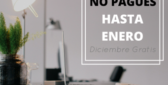 NO PAGUE HASTA ENERO