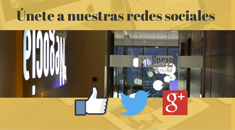 Unete a nuestras redes sociales
