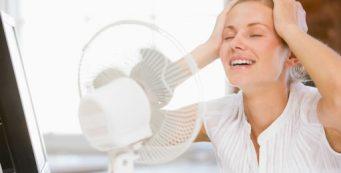 combatir el calor en la oficina