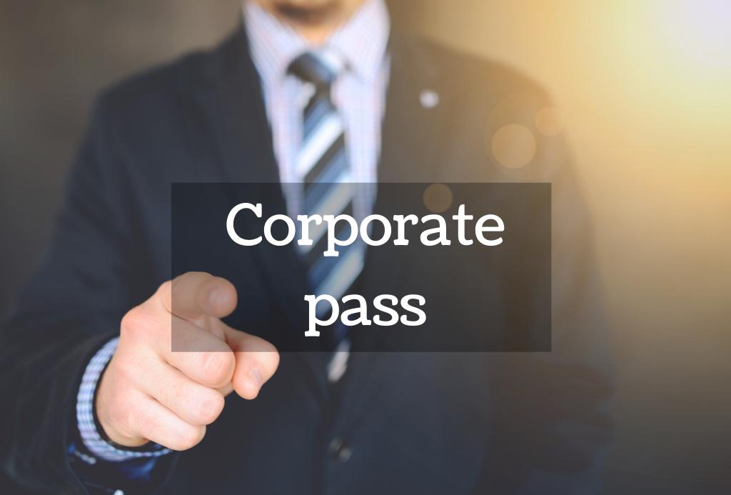 Corporate pass Negocia Area