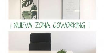 Estrenamos nueva zona Coworking en Almería