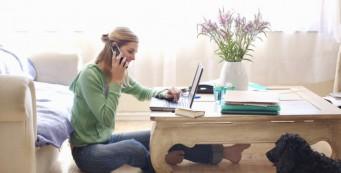 Errores de trabajar en casa