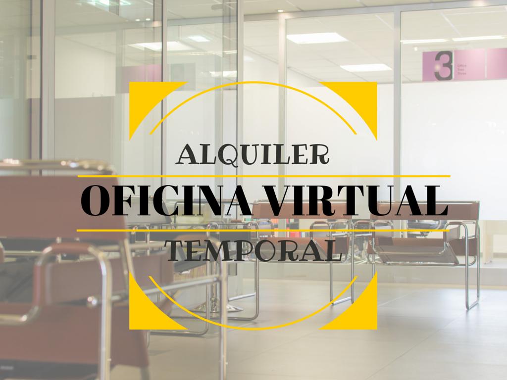 Oficina virtual para alquiler temporal negocia area for Alquiler oficina virtual