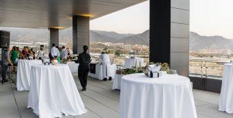 terraza para eventos en Almería
