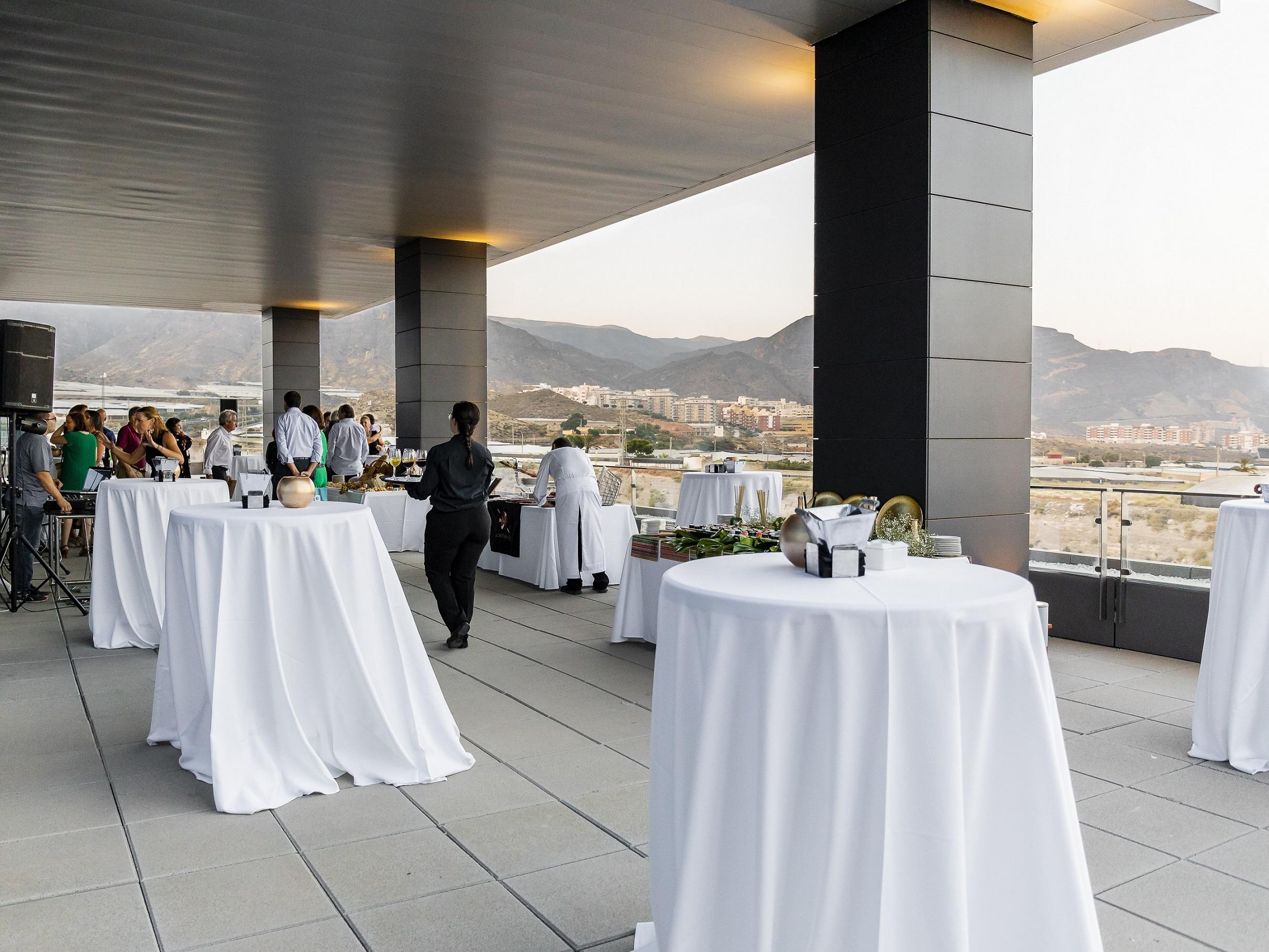 Terraza Para Eventos En Almería Centro De Negocios Almería
